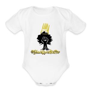 BLM Shirts - Short Sleeve Baby Bodysuit