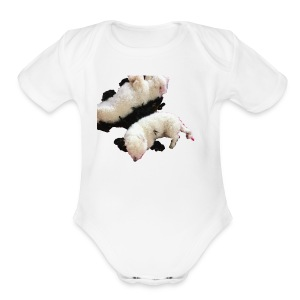 dogs shirt - Short Sleeve Baby Bodysuit