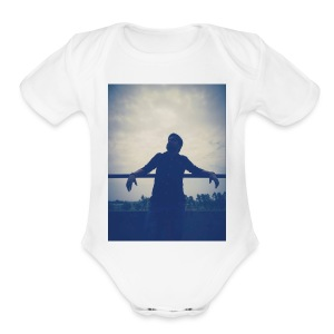 Men's Tshirt with ManuImage - Short Sleeve Baby Bodysuit