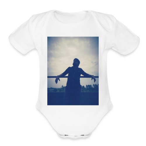Men's Tshirt with ManuImage - Organic Short Sleeve Baby Bodysuit
