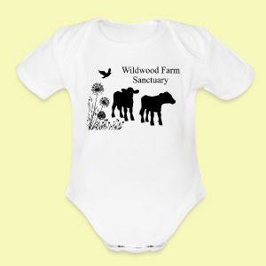 Cows - Short Sleeve Baby Bodysuit