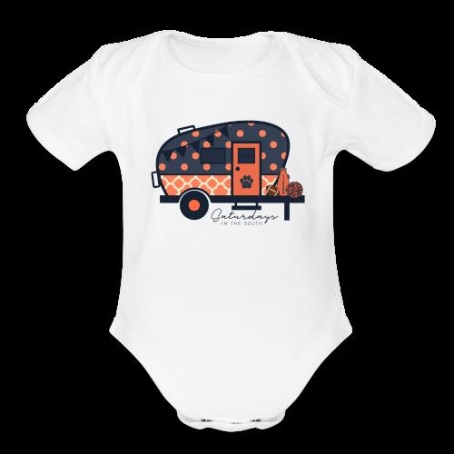 Saturdays in the South - Organic Short Sleeve Baby Bodysuit