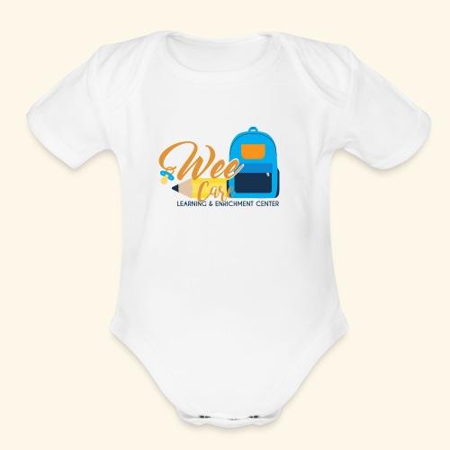 Wee Care - Organic Short Sleeve Baby Bodysuit