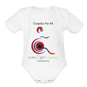 Cosplay For All: Spiderman - Short Sleeve Baby Bodysuit