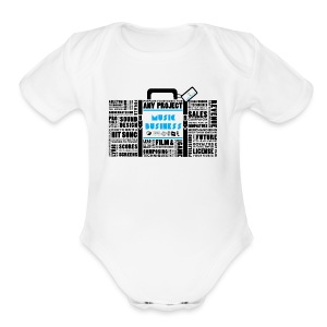 Music_Business - Short Sleeve Baby Bodysuit