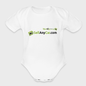 SellAnyCar.com original Logo - Short Sleeve Baby Bodysuit