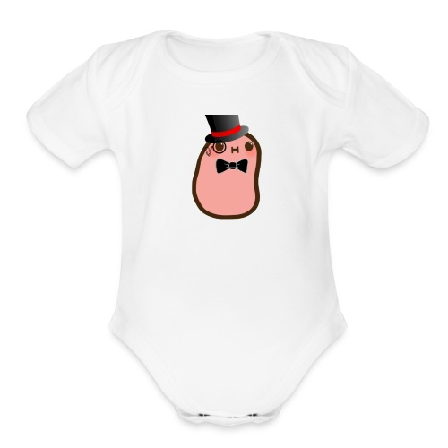 Mr. Potato Orignal - Organic Short Sleeve Baby Bodysuit