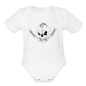 Braapstarzz - Short Sleeve Baby Bodysuit