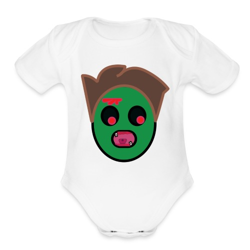 zombie family/ regular apparel - Organic Short Sleeve Baby Bodysuit