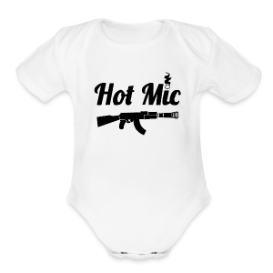 Hot Mic 47 - Short Sleeve Baby Bodysuit