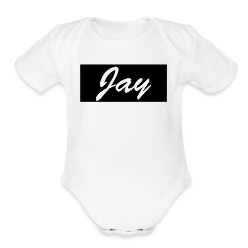 Jay Shirts - Organic Short Sleeve Baby Bodysuit