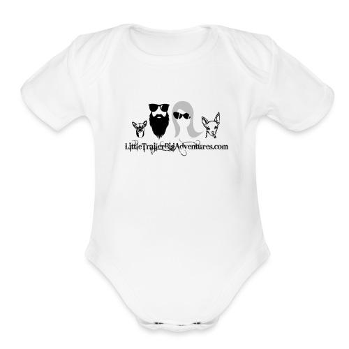 LTBA Headshot - Organic Short Sleeve Baby Bodysuit