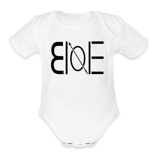 brooklyn one -JB-ONE - Organic Short Sleeve Baby Bodysuit