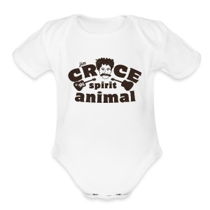 Jim Croce is My Spirit Animal - Short Sleeve Baby Bodysuit