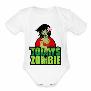 Sexy Zombie | Today's Zombie - Short Sleeve Baby Bodysuit
