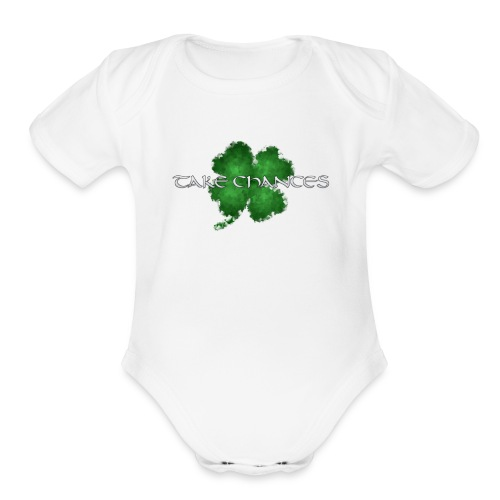 chance - Organic Short Sleeve Baby Bodysuit