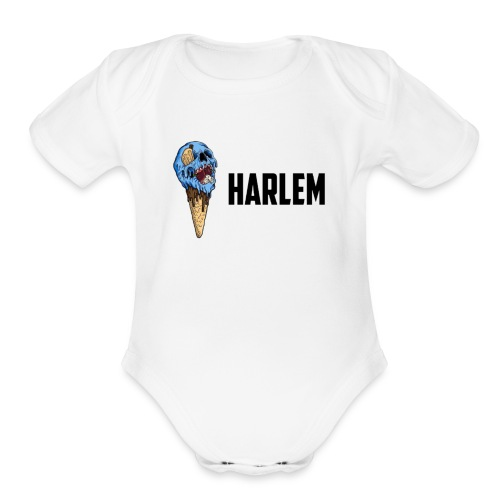 Devil Ice-Cream Tee - Organic Short Sleeve Baby Bodysuit