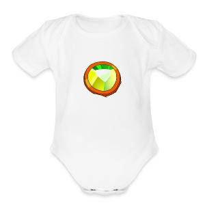 Life Crystal - Short Sleeve Baby Bodysuit