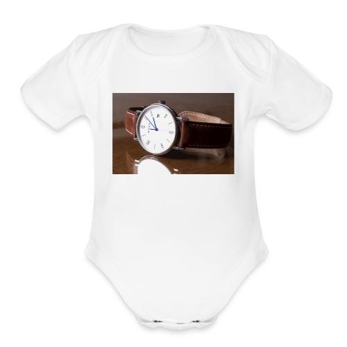 rider2 - Organic Short Sleeve Baby Bodysuit