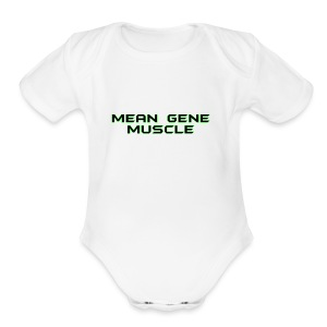 Mean Gene - Short Sleeve Baby Bodysuit
