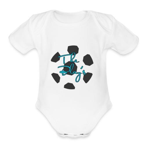 The Blay's - Organic Short Sleeve Baby Bodysuit
