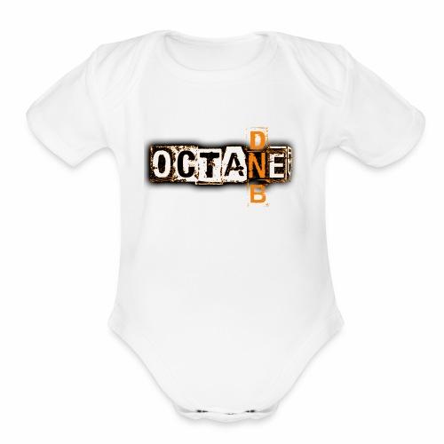 Octane DnB - Organic Short Sleeve Baby Bodysuit