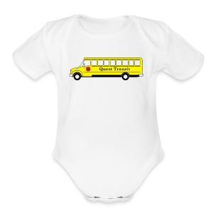 QuestTransit - Short Sleeve Baby Bodysuit