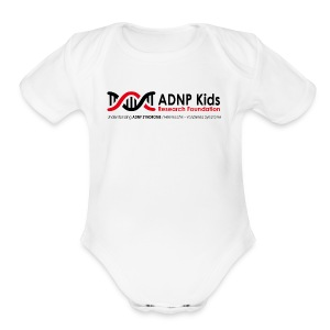 WHITE - Short Sleeve Baby Bodysuit