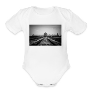 Auschwitz - Short Sleeve Baby Bodysuit