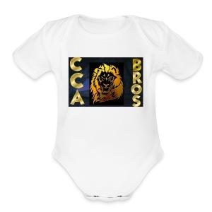 ccabros design - Short Sleeve Baby Bodysuit