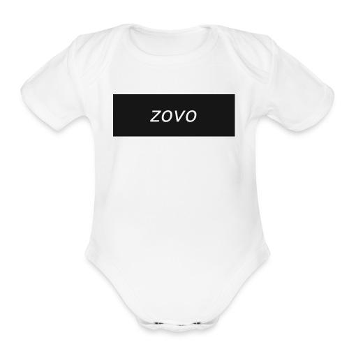 zavo hoodie - Organic Short Sleeve Baby Bodysuit