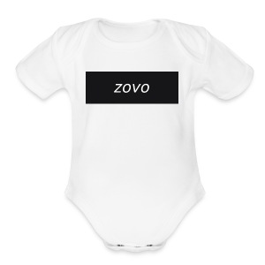 zavo hoodie - Short Sleeve Baby Bodysuit