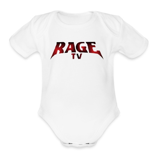 RAGE TV - Organic Short Sleeve Baby Bodysuit