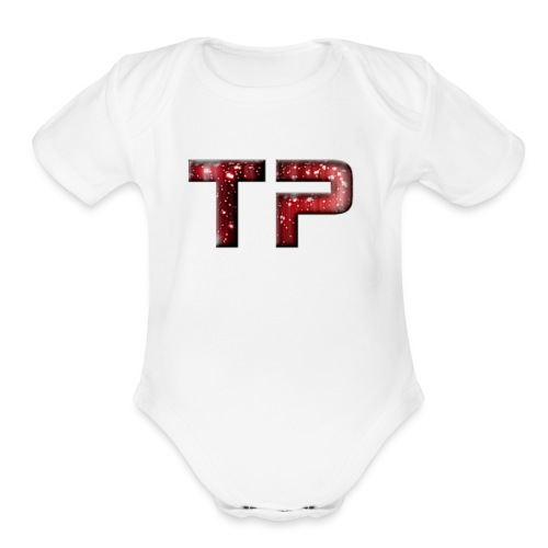picturetopeople opt 1 - Organic Short Sleeve Baby Bodysuit