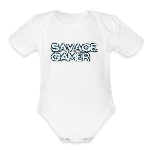 cooltext256766568447693 1 - Organic Short Sleeve Baby Bodysuit