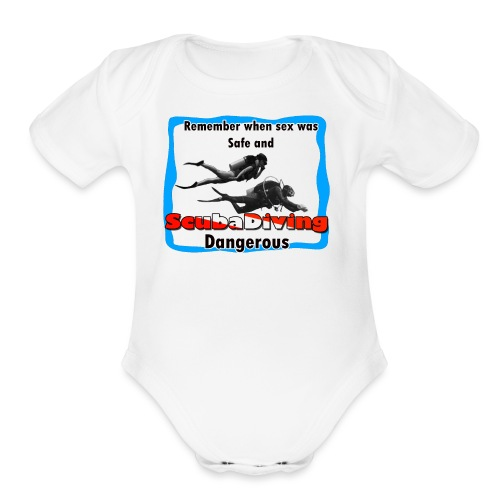 Dangerous - Organic Short Sleeve Baby Bodysuit