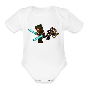 The Bandits - Short Sleeve Baby Bodysuit
