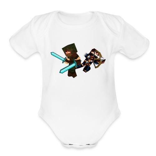 The Bandits - Organic Short Sleeve Baby Bodysuit
