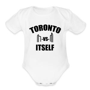 6 Versus 6 - Short Sleeve Baby Bodysuit