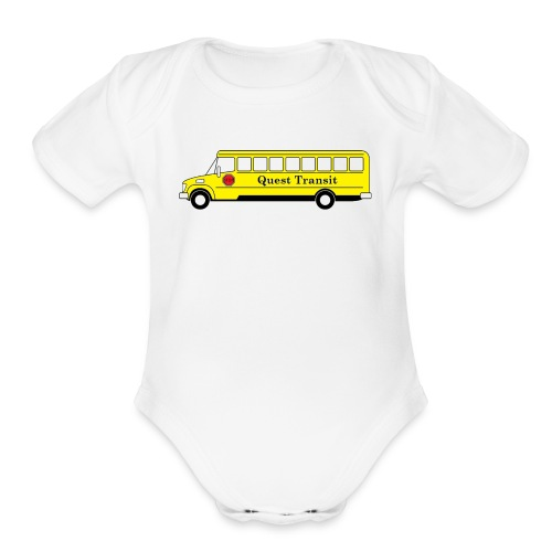 QuestTransit - Organic Short Sleeve Baby Bodysuit