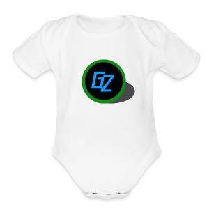 GZ Logo - Short Sleeve Baby Bodysuit