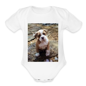 IMG_6105 - Short Sleeve Baby Bodysuit