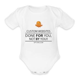 Optuno - Short Sleeve Baby Bodysuit
