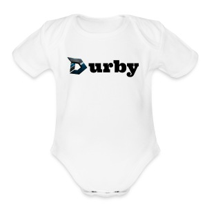 DURBY PRODUCTIONS MERCHANDISE - Short Sleeve Baby Bodysuit