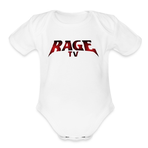 RAGE TV - Organic Short Sleeve Baby Bodysuit