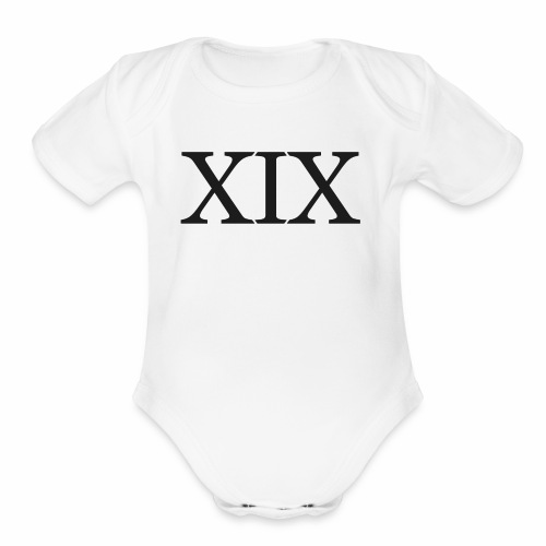 XIX Entertainment - Organic Short Sleeve Baby Bodysuit