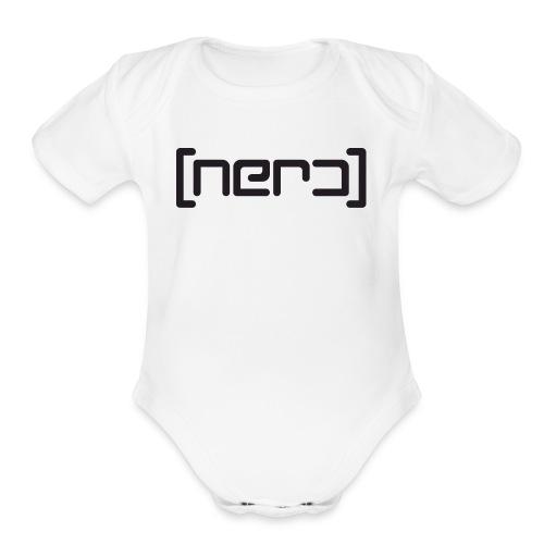 NERD - Organic Short Sleeve Baby Bodysuit