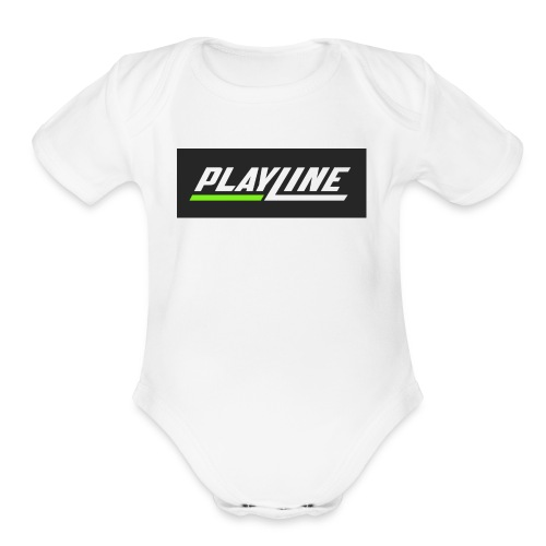 PlayLine - Organic Short Sleeve Baby Bodysuit