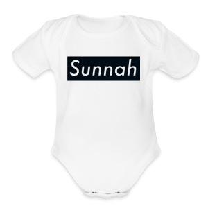 Sunnah - Short Sleeve Baby Bodysuit