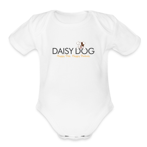 Daisy Dog Supplies - Organic Short Sleeve Baby Bodysuit
